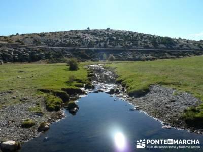 Rutas senderismo, Parque Natural del Hayedo de Tejera Negra; rutas desde cercedilla